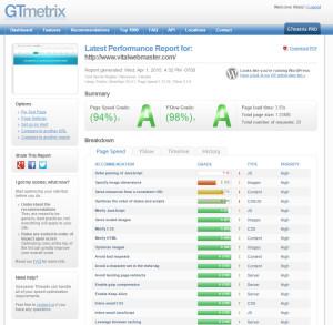 vitalwebmaster-test-gtmetrix
