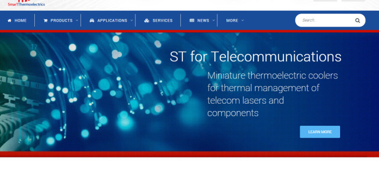 SmarTThermoelectrics Website Re-design Progress